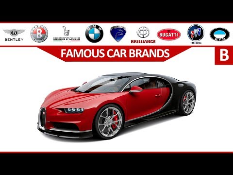 Learn Car Brands from A to Z - Full Alphabet