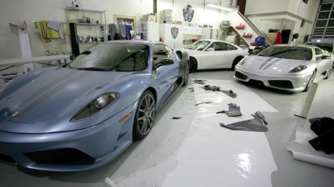 Superieur Ferrari Scuderia Full Matte Black Wrap By NorthWest Auto Salon Seattle Auto  Detailing