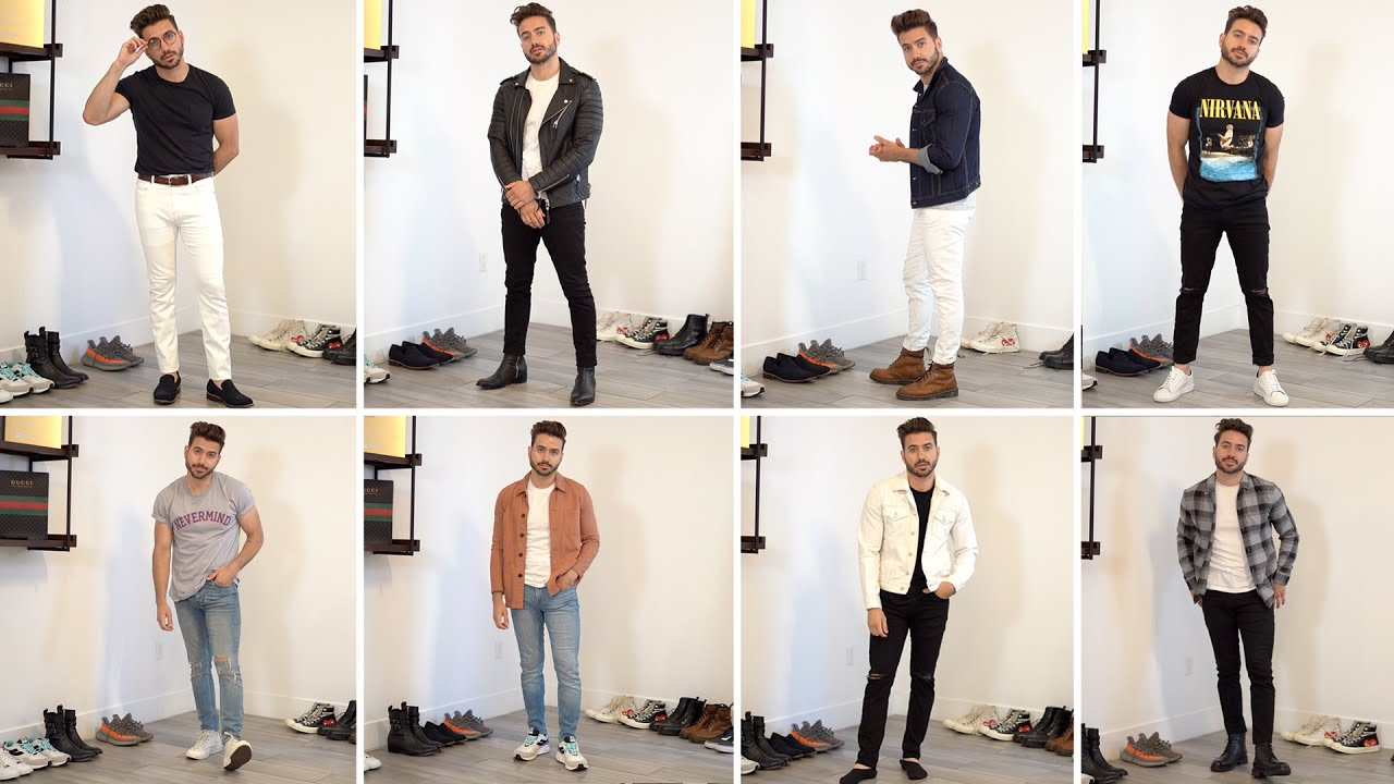10 Ways to Style Jeans and T,Shirts
