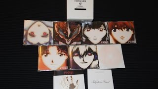 """Neon Genesis Evangelion"" S2 Works Soundtrack Set Unboxing"