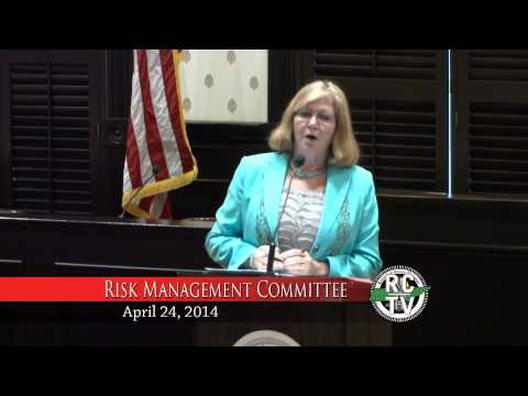 Risk Management Committee - April 24, 2014