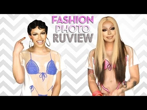 RuPaul's Drag Race Fashion Photo RuView with Tatianna and Raven - Episode 12