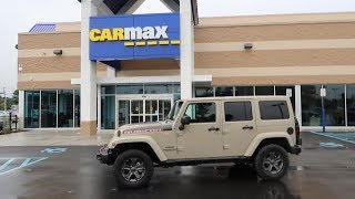 I took my 2 month old Jeep to CarMax...This is what they offered me...