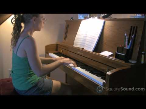 Chocobo Theme - Final Fantasy III Solo Piano Sample - SquareSound.com