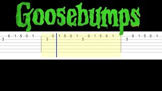 Goosebumps Theme Song 1995 (Easy Guitar Tabs Tutorial)