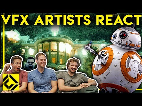 VFX Artists React to Bad & Great CGi 4
