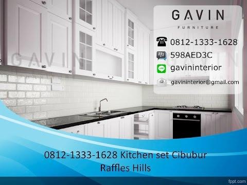 0812-1333-1628 (Tsel) Kitchen Set Minimalis Cibubur