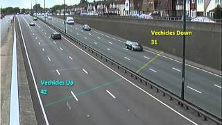 How to use GXI video analytics for Counting vehicles on expressway