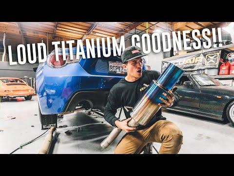BEST SUBARU BRZ EXHAUST - GReddy Performance RS Ti Exhaust install!