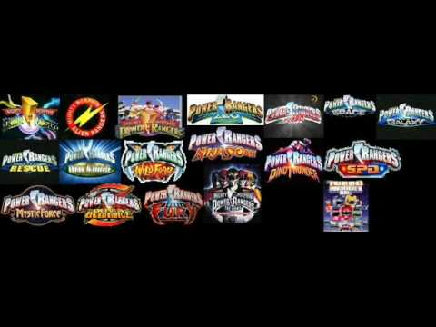 Power Rangers Logos Youtube