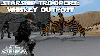 Star Wars Battlefront 2 Mod   Starship Troopers: Whiskey Outpost
