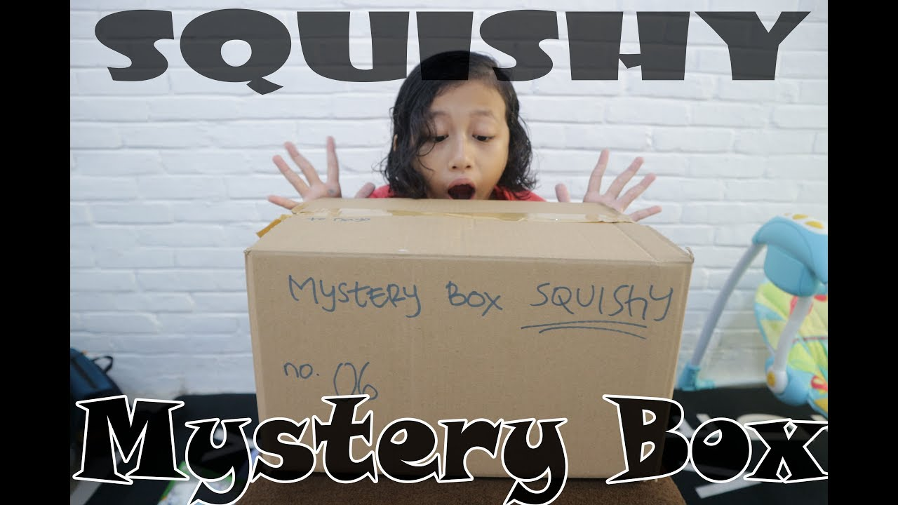 Squishy And Slime Mystery Box : Squishy Mystery Box - YouTube