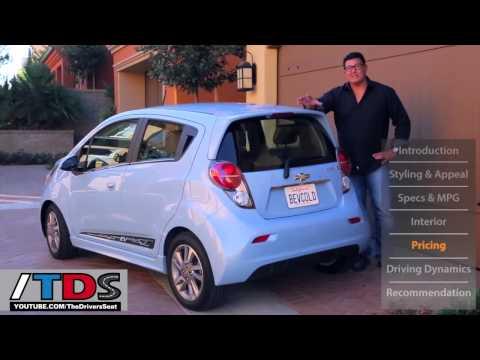 2014 Chevy Spark Ev Youtube