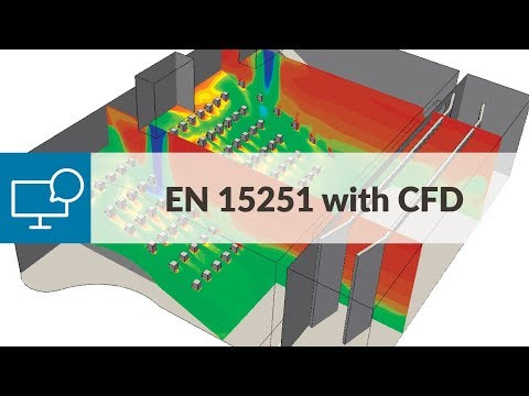 HVAC Design Study for Thermal Comfort with CFD