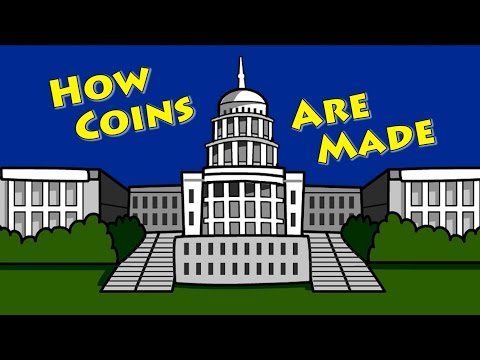 How Coins Are Made ... For Kids!