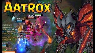 Aatrox vs Trundle s8 top | Aatrox runa conquistador | Partidaza!!!