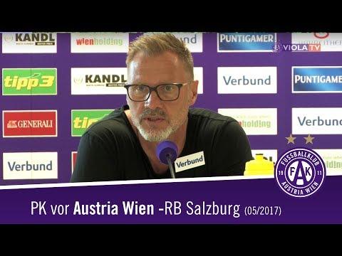 Pressekonferenz vor Austria - RBS