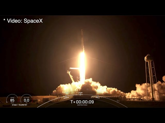 Space X Crew Is Orbiting Earth Today