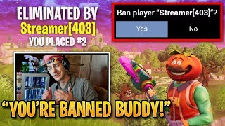 Ninja Gets Stream Snipers BANNED by Epic Games! | Fortnite Best Moments