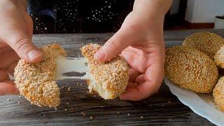 Изумительные булочки с сыром Cheese Buns with Sesame Seeds Recipe