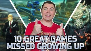 Top 10 Great Games I Missed Growing Up - Square Eyed Jak