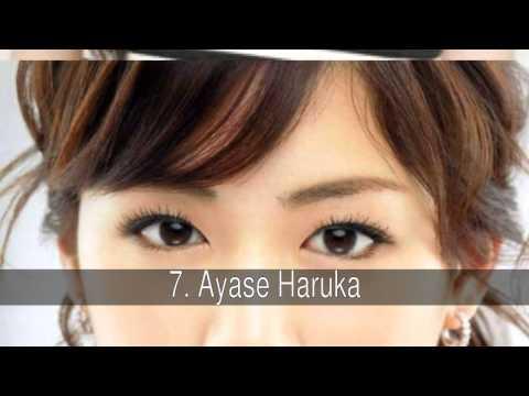 Las actrices japonesas más bellas