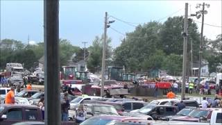 Danny Toops Memorial Truck Pull - Madison County Fairgrounds - London, OH - June 14th, 2015
