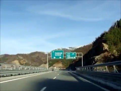 Autoput Tirana Pristina - Highway Tirana Prishtina