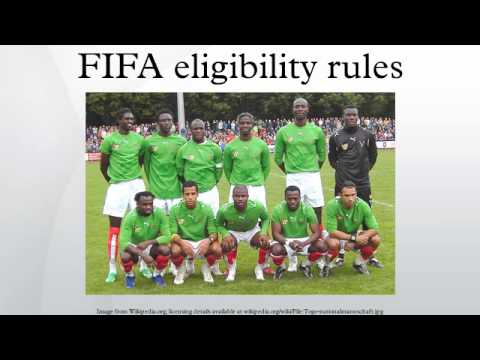 FIFA eligibility rules