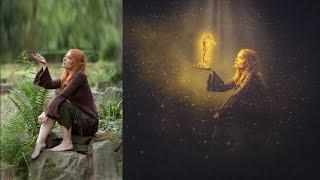 Photoshop tutorial | Photo Manipulation Lighting Effects SHG
