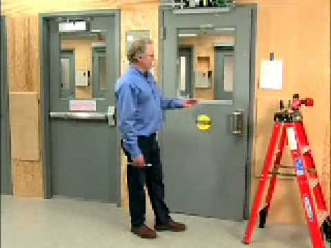 hqdefault door closer, electric door, handicap door adjustments and install