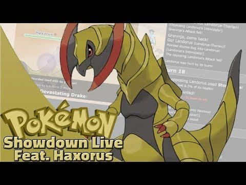 Dragon Dance Haxorus Team! Pokemon Sun And Moon OU Showdown Live W/OPJellicent (Smogon OU Team)
