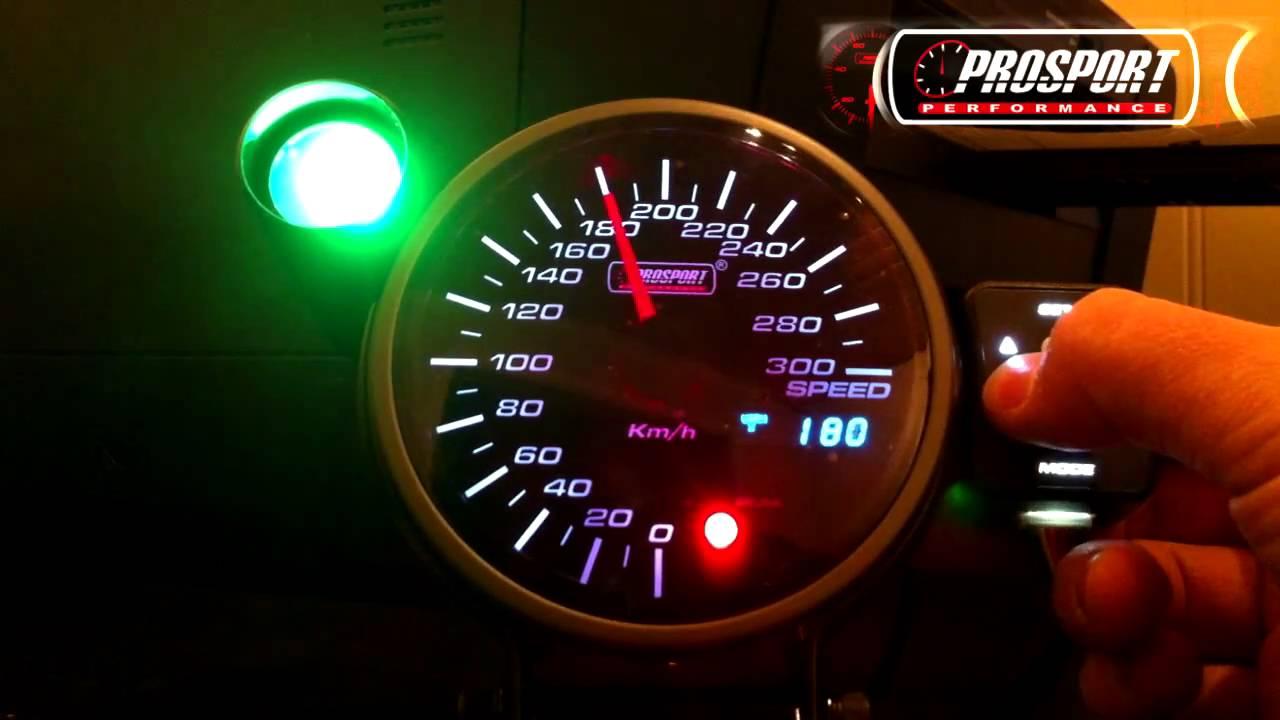prosport 95mm speedometer in gotsmoked no