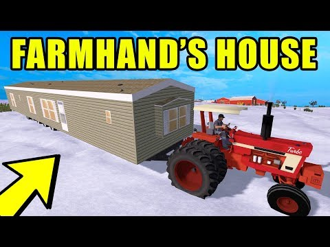 FARMING SIMULATOR 2017 | WE GOT NEW HOUSES FOR OUR FARMHANDS
