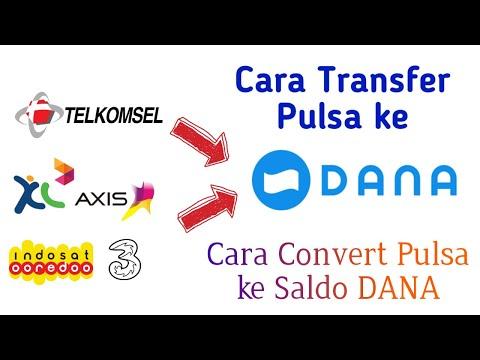 Cara Transfer Pulsa Ke Dana Covert Pulsa Ke Dana Youtube