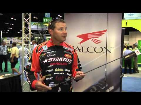 New Falcon McClelland Signature Rods With Mike McClelland ICAST 2012