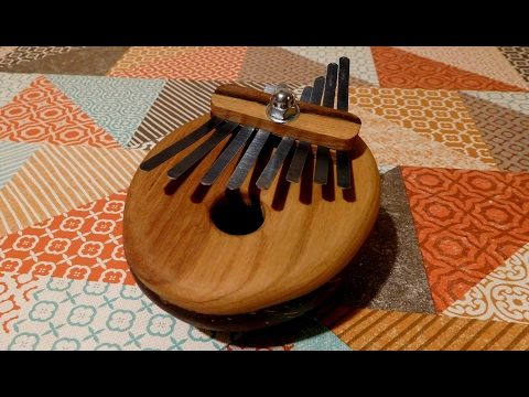 Crafting With Coconut Shell Part 2 of 2 - Making A Kalimba