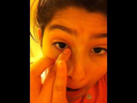 How to make your eyelashes longer with petroleum jelly - YouTube