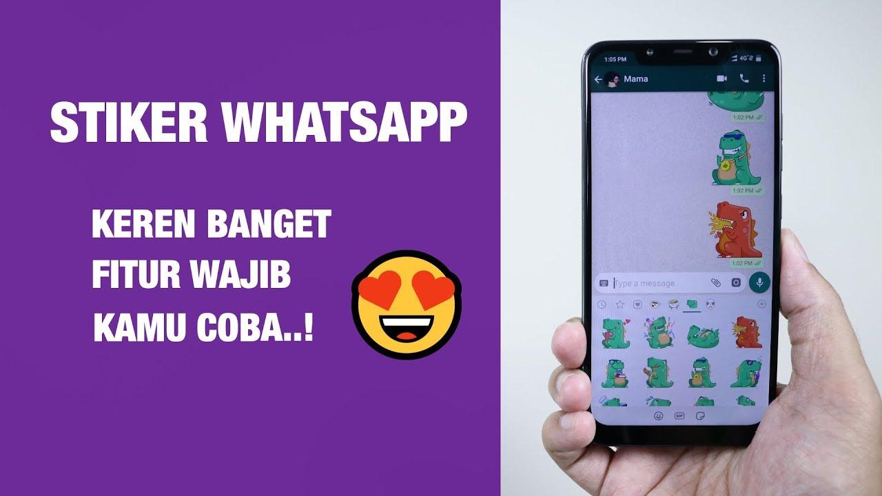 Fitur Baru Stiker Untuk Whatsapp Cara Kirim Stiker Di Whatsapp
