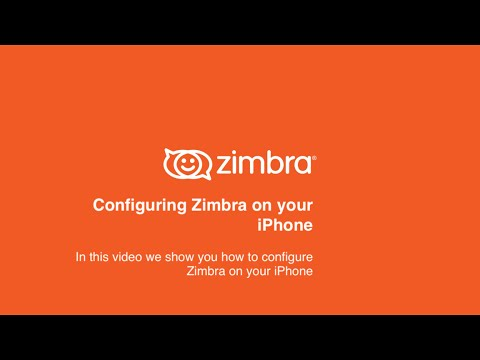 Zimbra Tips & Tricks - Configuring Zimbra On Your IPhone