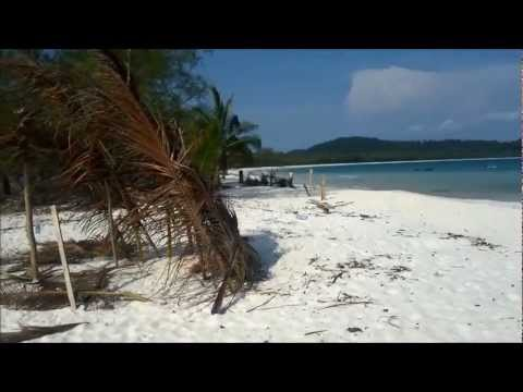 2 days in Koh Rong, tropical island with beautiful beaches in southern Cambodia