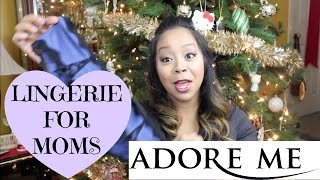 LINGERIE FOR MOMS! ADORE ME HAUL | MommyTipsByCole