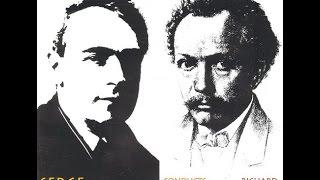 Koussevitsky Conducts Strauss: Also Sprach Zarathustra  &Till Eulenspiegels  Lustige Streiche-BSO