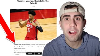 REACTING TO SUPRISING NBA TRADES THAT COULD HAPPEN!