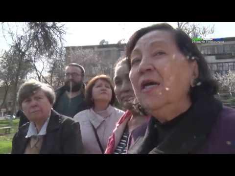 Жители Ц-1 обратились к представителям городской прокуратуры и Госкомэкологии с отчаянным призывом