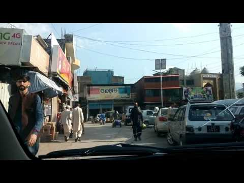 muzaffarabad city of Azad Jammu Kashmir 2017
