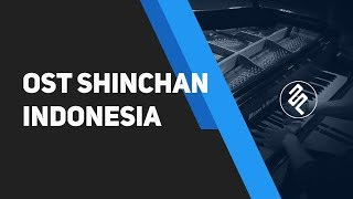 OST Crayon Shinchan Opening Indonesia Version Cover by fx piano tutorial w/ chords synthesia