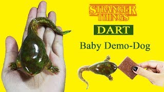 Make DART Demodog in Stranger Things series - DIY Craft