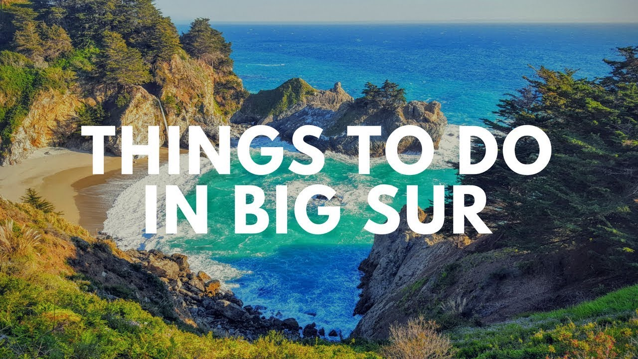 Big sur california   things to do in big sur - YouTube
