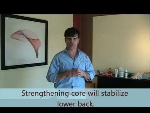 West Hollywood Chiropractor: Abdominal Hollow Exercise to Strengthen and Stabilize Core